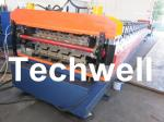 PLC Frequency Control System Double Layer Roofing Roll Forming Machine TW-DLM