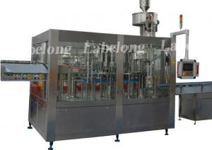 China Small Capacity Pet Bottle Water Filling Machine , PLC Control Water Packing Machine on sale