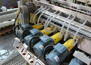 China Máquina de vidro da máquina de moedura do vidro de flutuador do PLC/Edger do dobro e polonês on sale