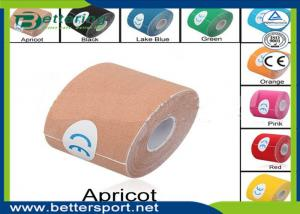 10cm 5M//Roll Apricot Elastic Kinesiology Sport Tape Muscle Pain Care Therapeutic