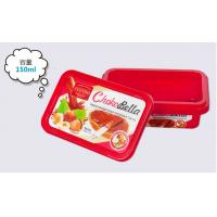 Colorful Housewares Promotional Plastic Food Storage Containers For Yoghourt Or Butter