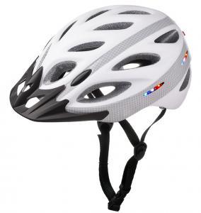 China wholesale OEM custom rechargeable LED LIGHT cycling helmet LED bike helmet on sale
