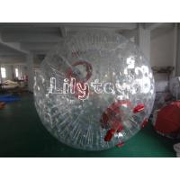 amusement park Inflatable Water Walking Ball / Adults ramps zorb balls rental EN15649