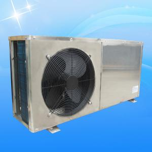 China Heating House Home Heat Pump 220V / 380v 7KW Stainless Stell Shell Compact Structure on sale
