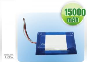 China IEC Standard Polymer Lithium Ion Batteries For Tablet PC 1.6ah 3,7V 0850110 Charge And Discharge 0.5C on sale