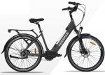 Lithium Battery 26 Inch City Electric Bicycle / E - bike With Rear Motor For Adults