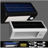 China High Quality Solar Wall Lights Waterproof LED Outdoor Solar Lighting PIR Sensor Light on sale
