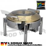 Φ385 Standard Electric Chafer Food Warmer Enviornmental Friendly Corrosion Resistant