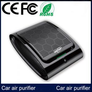 China Hot Sales Portable Car Air Purifier with Kation And Negative Ions Have CE FCC ROHS on sale