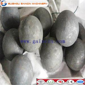China dia.20mm,60mm,50mm forged steel grinding media balls, grinding media steel balls, hot rolled grinding media steel balls on sale
