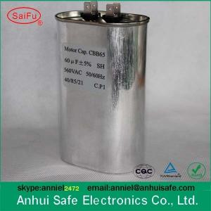 air conditioner capacitor CBB65 35UF+5 Uf best price air