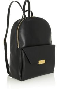Quality Fashion Korean Black Leather Backpack Bag For S Boys Exquisite