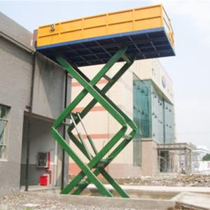 China Electric Scissor Type Goods Lift on sale