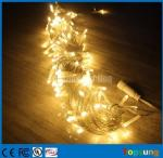 Hot sale 127v warm white connectable fairy string lights 10m Christmas decoration