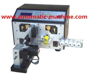 China Automatic Digital wire Cutting& Stripping Wire Twisting machine (once cut two) TATL-RY-220+T on sale
