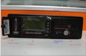 China Automobile Carrier Vehicle Solution Digital Tachograph With National / Local Standard on sale