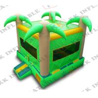 Green Original Forest Jungle Best Price Jumping Children Inflatable Bouncer Kjb-g016 Party Use