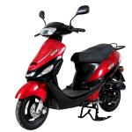 Brushless Gas Powered Scooters , Popular Gas Powered Moped 50cc 4 Stroke