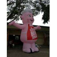 Advertising Inflatable Model with pig chief cooking model