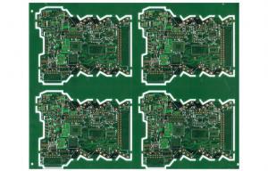 China ENIG Green Soldermask Multilayer PCB FR4 Custom Circuit Board For Transformer on sale