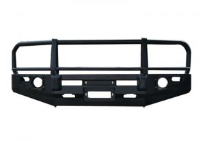 China Car Exterior Decoration Auto Front Bumper Grille Steel Guard Car Bumper with black color on sale