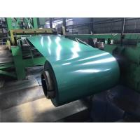 G3312 A755 JIS ASTM Pre Painted Galvanized Steel Coils 600 - 1250mm Width PPGI Ral 9010