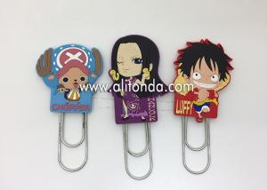China Anime company promotional gifts custom with Japanese cartoon figures design bookmark for promotion on sale