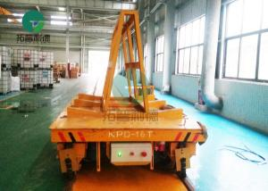 China Customized Indutrial Rail Guided Material Handling 25 Ton Transport Cart for molds, coils, ladle on sale