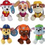 Fashion Cartoon Paw Patral Plush Stuffed Toys 20cm For Crane Vending Toy Machine