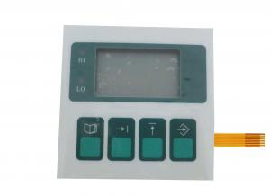 China LED Diffusing Capacitive Membrane Switch , Transparent Window Sealed Membrane Switches on sale