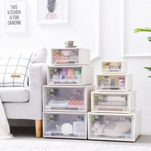 China hot selling 2018 amazon Plastic container homes 5 Layer Storage Drawer household storage box transparent storage drawer on sale