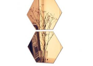 China Attractive Tinted Wall Mirror , Eco Friendly Tinted Plate Glass Multi Color on sale