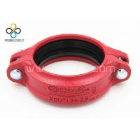 CCC FM UL Good quality Rigid Coupling Ductile iron grooved fittings