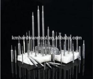 China KM Precision Thimble Straight Injection Mould Ejector Pin Die Thimble on sale