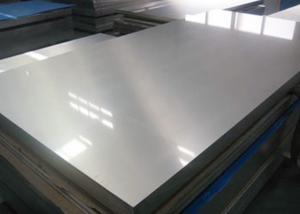 China Trailer Use Thin Aluminum Sheet , Aluminium Sheet 3mm Mill Finish Surface Treatment on sale