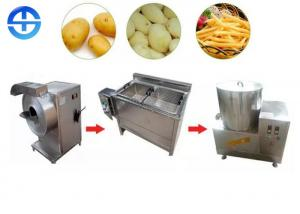China Multipurpose Semi Automatic Potato Chips Making Machine Small Scale 50kg on sale
