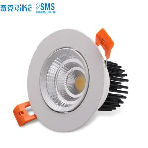 China LED Dimmable COB 12W LED Downlight AC85-265V Recessed LED Spot Light Ceiling Lamp on sale