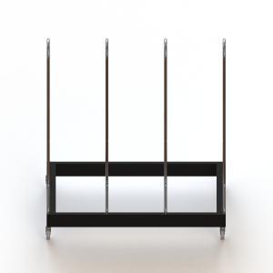 China Shoulder Pad Steel Display Rack Rugby Clothes 4 holders Display Stand on sale