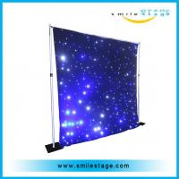 china newest product colorfulled star curtain for wedding /big commercial