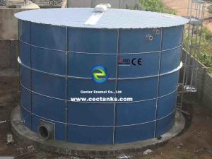 China Large Sludge Treatment Tank Coating Thickness 0.25mm ~ 0.40mm  High Airtightness on sale