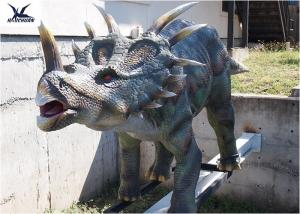 China Mechanical Playground Animatronic Life Size Dinosaur Decoration Equipment Model supplier