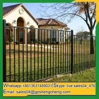 Geraldton Decorative wrought iron fence for garden powder coated fencing