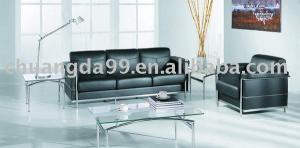 China OEM  1+2+3 PU / Leather Office Sofa Set on sale