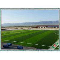 Professional Football Fake Turf  Anti - UV Monofilament PE Fake Grass For Outside