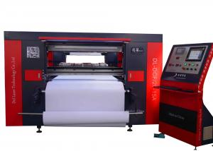 China Large Automatic T Shirt Printing Machine CNC CO2 300 Watt For Clothing on sale