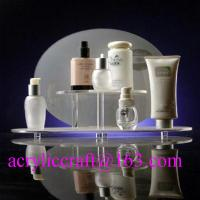 Custom design retail shop table acrylic makeup display stand / cosmetic display rack