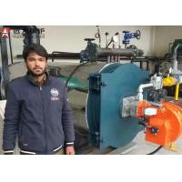 YYQW 2 Ton Gas Oil Fired Thermic Oil Boiler For Plastic Tape Factory Pakistan