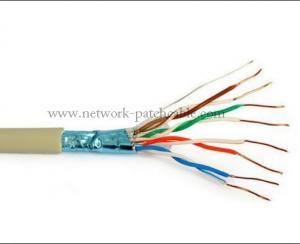 China chaqueta de PVC desnuda del alambre de cobre del cable sólido de la red Cat5e de los 500m nueva on sale
