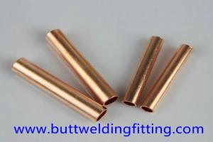China 70/30 Copper Nickel Tube , Seamless Straight Copper Pipe For Water Heater on sale