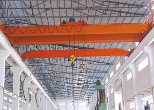 China Safe Overhead Travelling Crane 15 Ton Electric Equipment With Drive Motor on sale